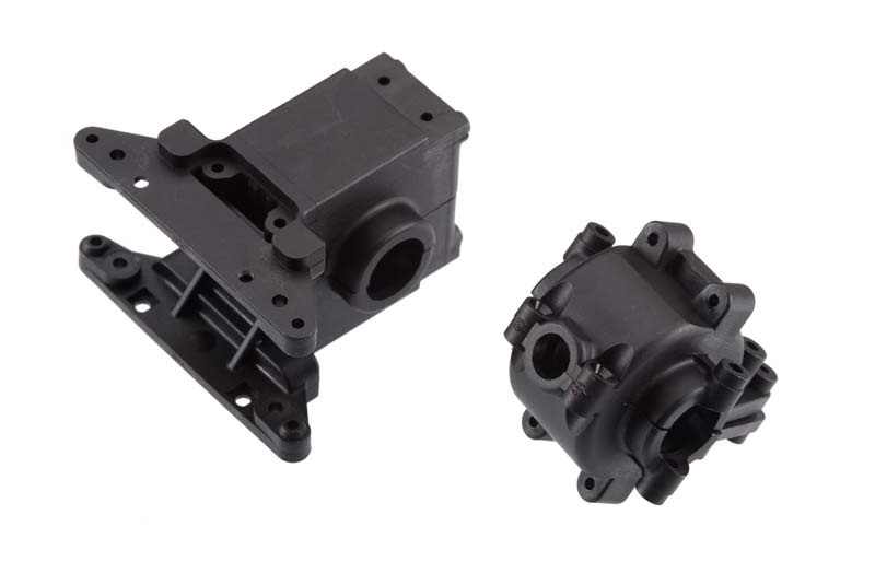 TRAXXAS запчасти Bulkhead, front  rear / differential housing, front  rear TRA7530
