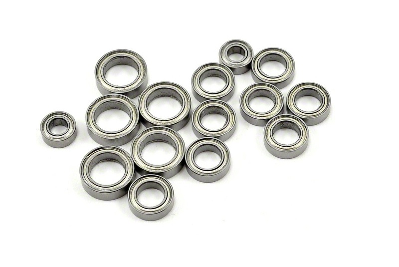 TRAXXAS запчасти Bearings: 4x8mm (2), 6x10mm (8), 8x12mm (5) TRA7541x
