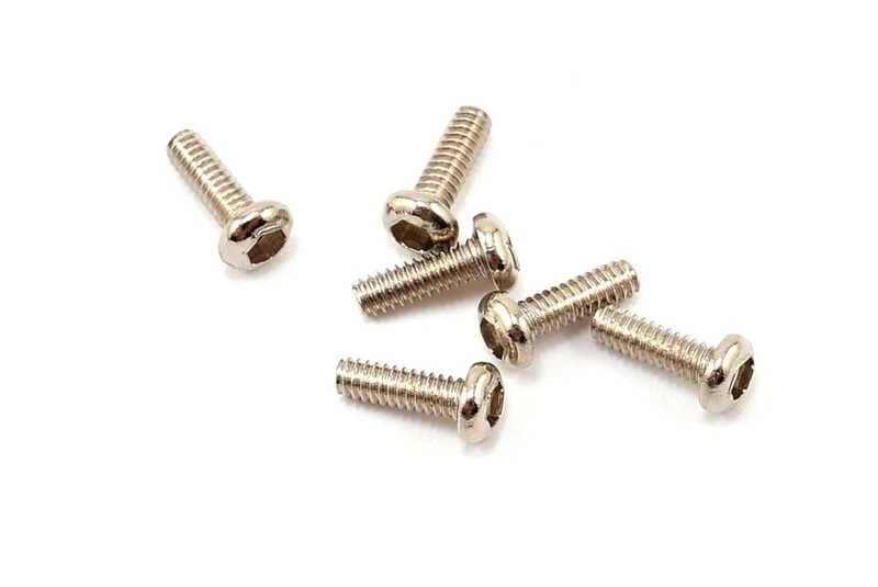 TRAXXAS запчасти Screws, 1.6x5mm button-head machine (hex drive) (6) TRA6643