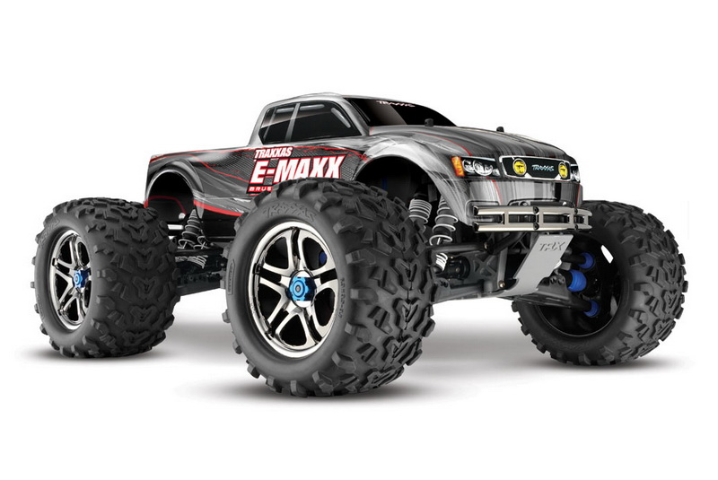 Монстр TRAXXAS 1/10 EP 4WD E-Maxx Brushless TQi 2.4GHz RTR TRA3908