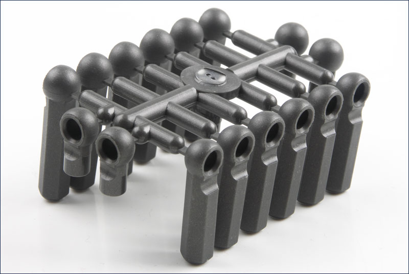 KYOSHO запчасти Hard Ball End Set (L=10/23/28)  97021H