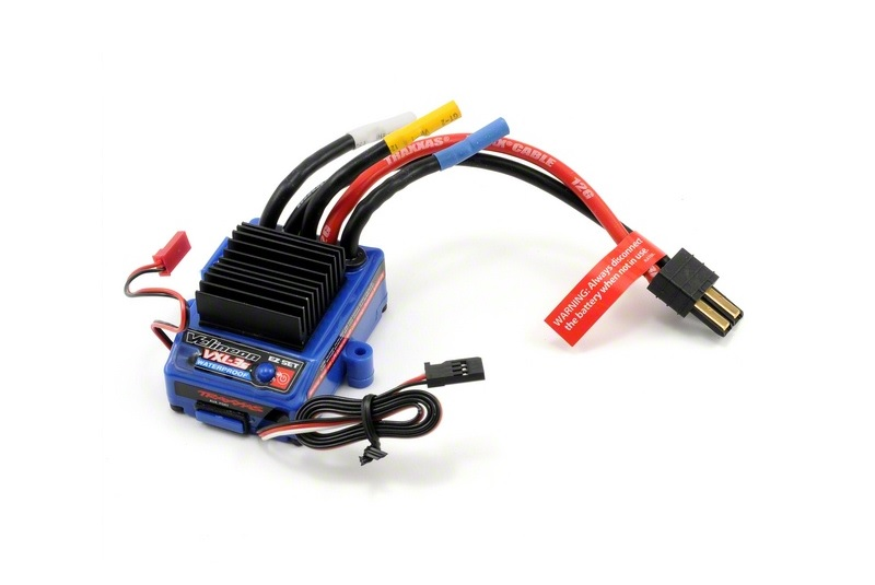 TRAXXAS запчасти VXL-3s Electronic Speed Control, waterproof (brushless) (fwd/rev/brake) TRA3355X