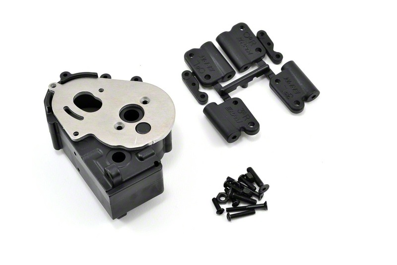 RPM Traxxas Gearbox Housing and Mounts - Black RPM73612