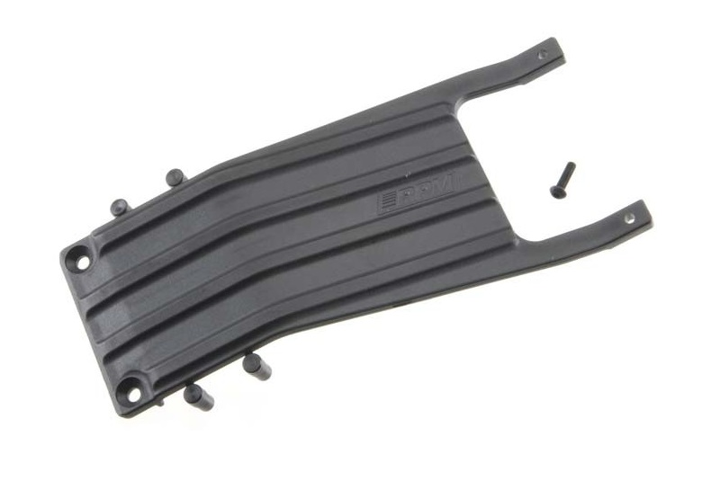 RPM Traxxas Slash Front Skid Plate - Black RPM81252