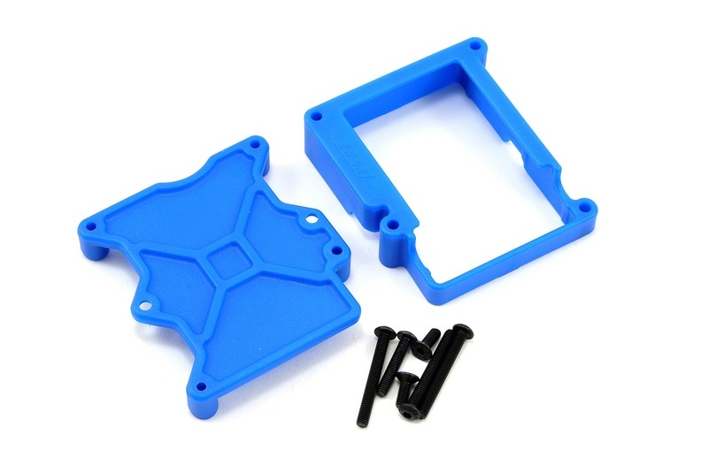 RPM ESC Cage for Traxxas VXL-3S ESCs - Blue RPM70605