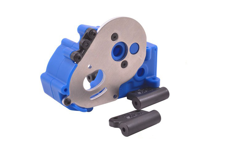 RPM Traxxas Gearbox Housing and Mounts - Blue RPM73615