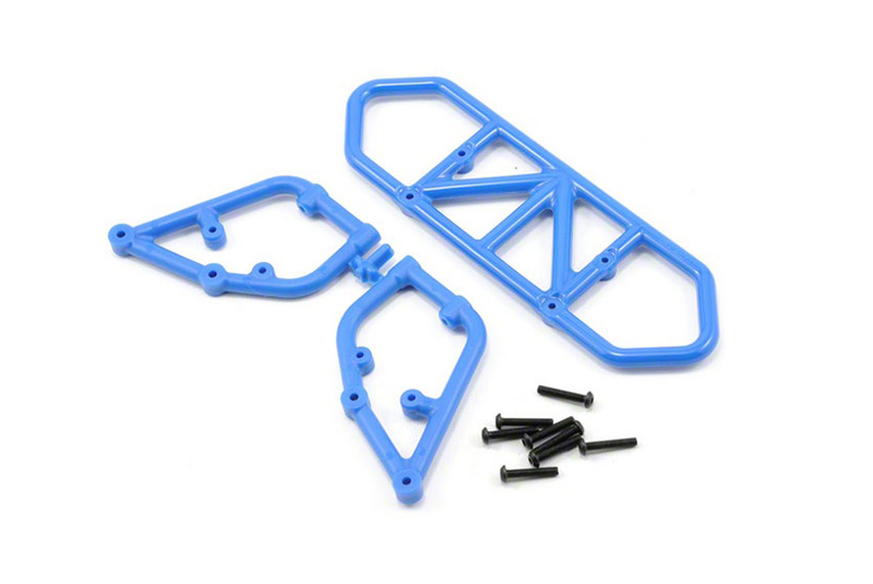 RPM Slash 2wd Rear Bumper - Blue RPM81005