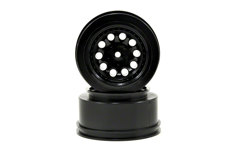 RPM RPM Revolver Rear Wheels Black Nitro Slash RPM82332