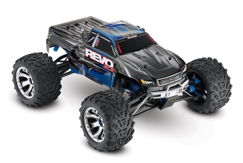 TRAXXAS 1/10 GP 4WD Revo 3.3 TQi RTR (with Bluetooth module and telemetry) TRA53097