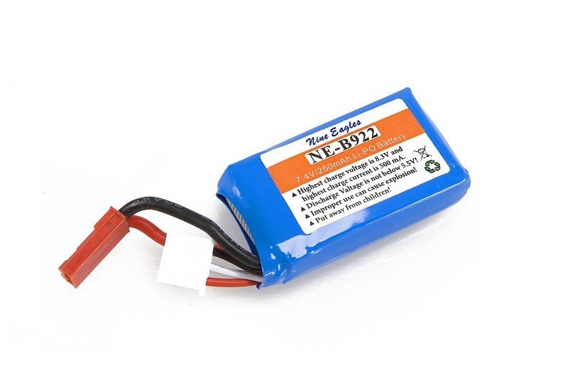 Nine Eagles запчасти Li-Po 7,4V (2S) 250 mAh NE4771004