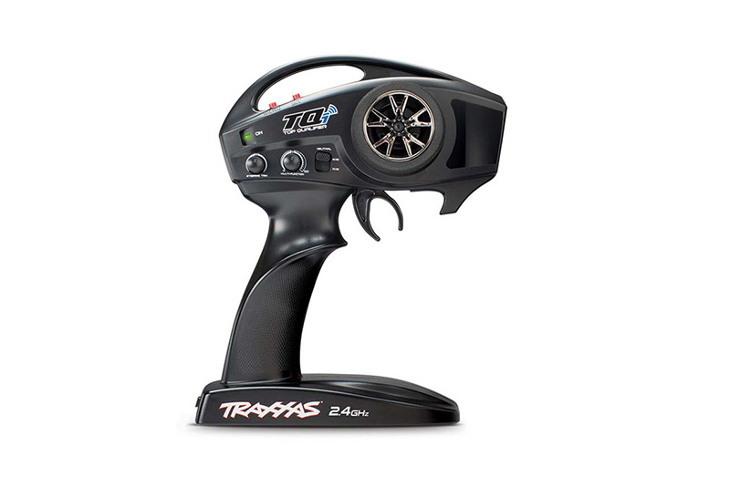 TQi 2.4 GHz radio system, 2-channel Traxxas Link enabled (2-ch transmitter, 5-ch micro receiver) TRA6509X
