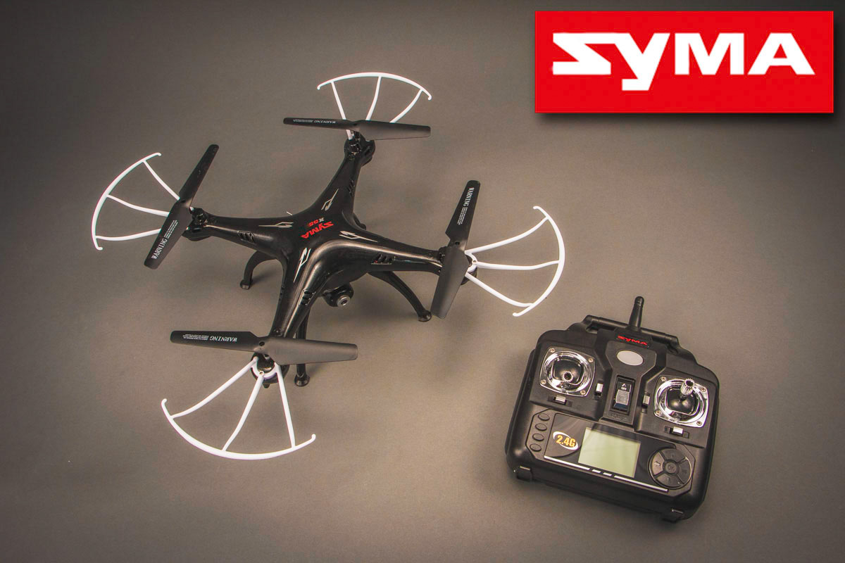 SYMA X5SC 4CH quadcopter with 6AXIS GYRO (с камерой) X5SC