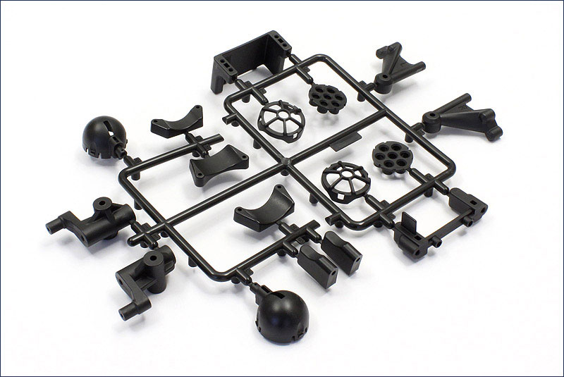 KYOSHO запчасти Front Knuckle Arm Set (Scorpion XXL)  SX056
