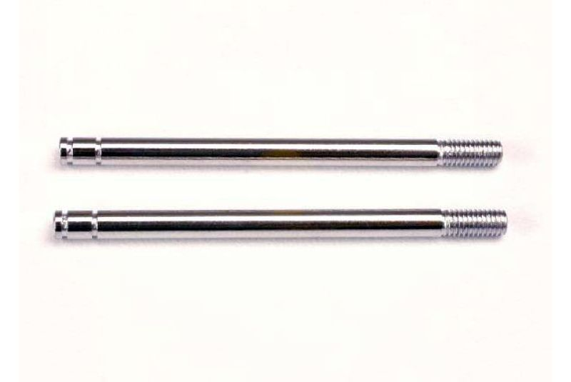 TRAXXAS запчасти Shock shafts, steel, chrome finish (long) (2) TRA1664