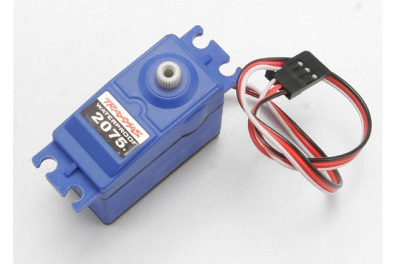 TRAXXAS запчасти Servo, digital high-torque (ball bearing), waterproof TRA2075
