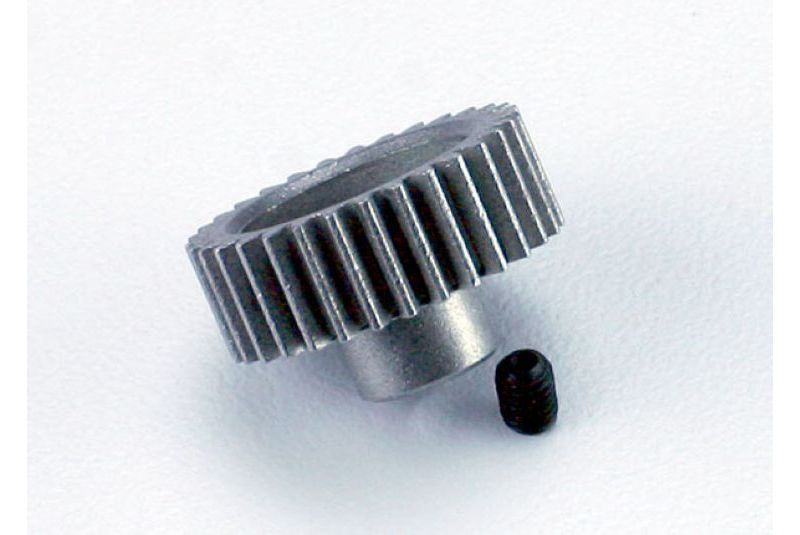 TRAXXAS запчасти Gear, 31-T pinion (48-pitch) / set screw TRA2431