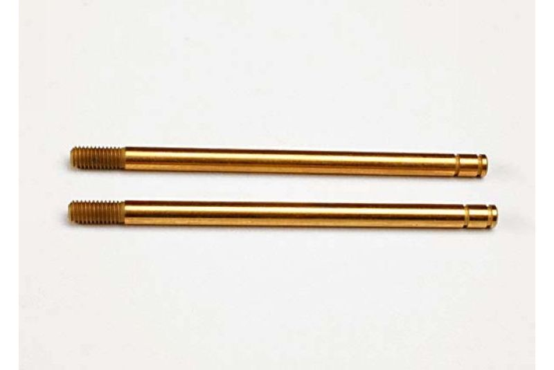 TRAXXAS запчасти Shock shafts, hardened steel, titanium nitride coated (xx-long) (2) TRA2656T