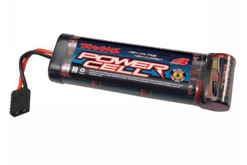 TRAXXAS запчасти Battery, Series 4 Power Cell, 4200mAh (NiMH, 7-C flat, 8.4V) TRA2950