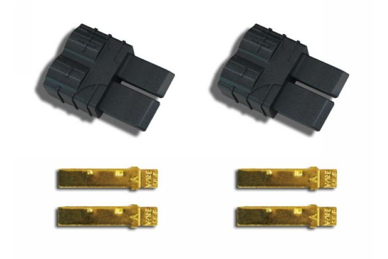 TRAXXAS запчасти Traxxas Connector (male) (2) TRA3070