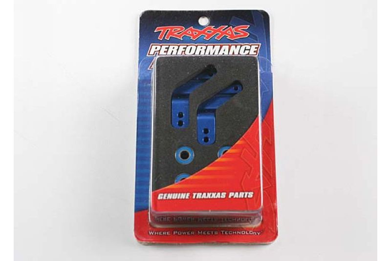 TRAXXAS запчасти Stub axle carriers, Rustler/Stampede/Bandit (2), 6061-T6 aluminum (blue-anodized)/ 5x11mm ball beari TRA3652A