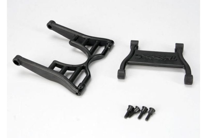 TRAXXAS запчасти Wheelie bar arm (1)/ connector (1)/ 3x12 SS (hex drive) (4) TRA4974