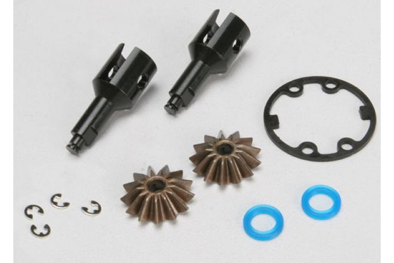 TRAXXAS запчасти Drive cups, inner (2) (Jato) (for steel constant-velocity driveshafts)/ differential spider gears (2 TRA5125