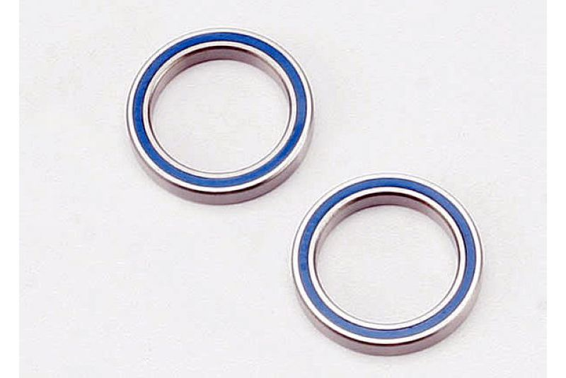 TRAXXAS запчасти Ball bearings, blue rubber sealed (20x27x4mm) (2) TRA5182